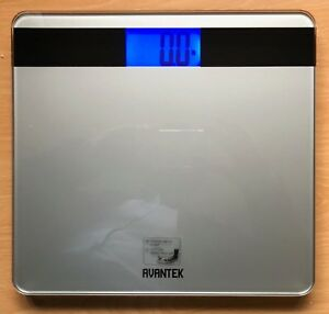 Image Is Loading Avantek Precision Digital Bathroom Scale Slightly Used