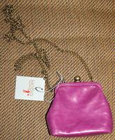 Hobo International Libby Crossbody Frame Clutch Wallet Purple