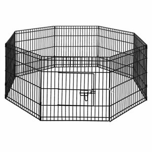 i-Pet-24-034-8-Panel-Pet-Dog-Playpen-Puppy-Exercise-Cage-Enclosure-Fence-Play-Pen