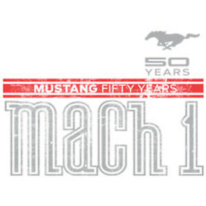Mustang-Ford-50-Years-Mach-1-American-Muscle-Hot-Rat-Rod-Car-Auto-T-Shirt-Tee