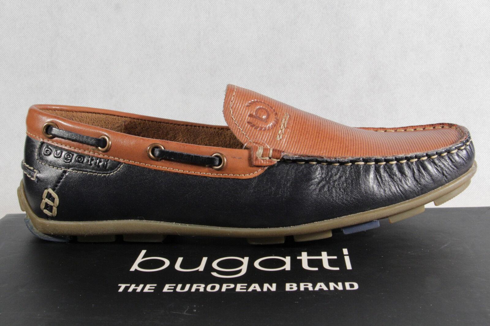 Bugatti Slipper, Halbschuh, Sneaker blau/ NEU braun Echtleder  NEU blau/ 48bd1a