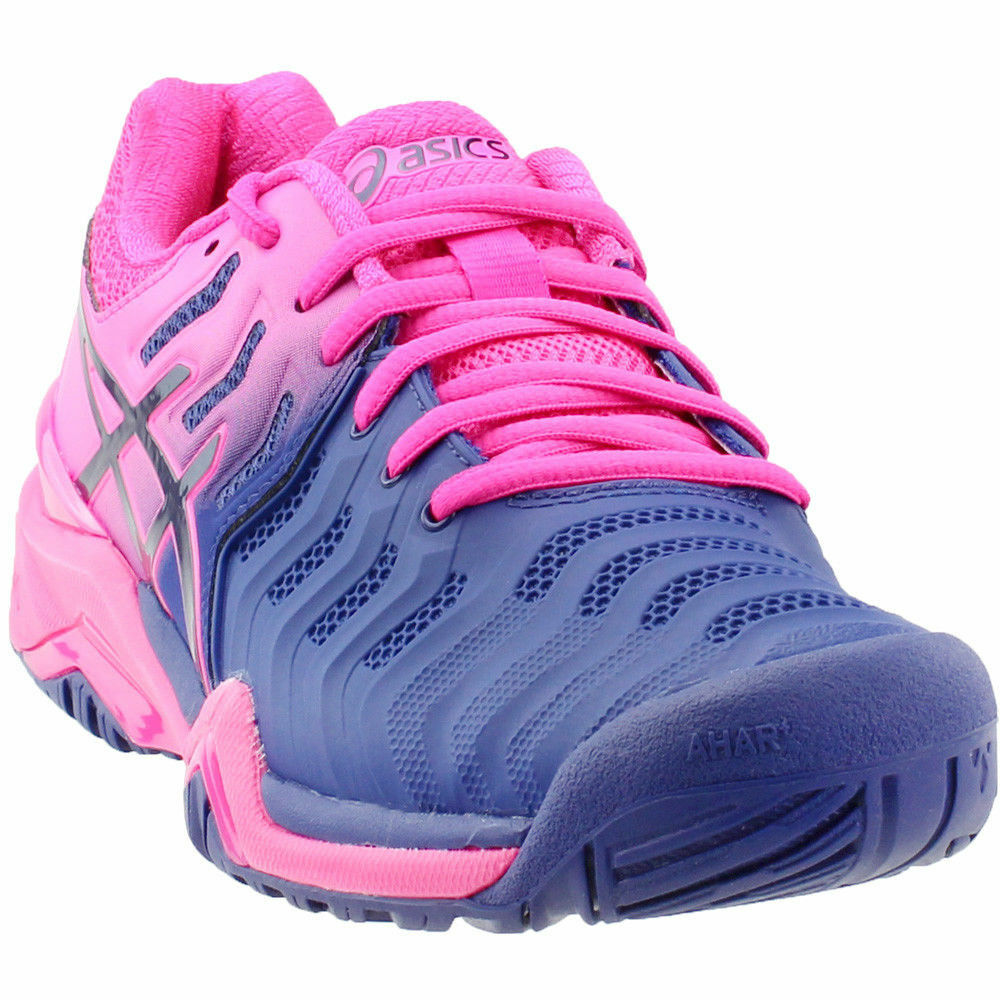 Gel Resolution 7 Women's shoes shoes shoes bluee Pink Size 7.5 1eae2d