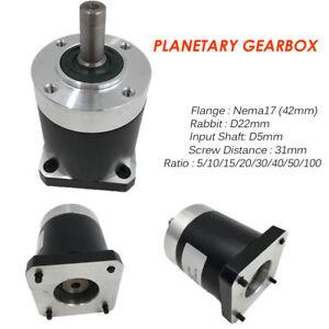 Nema17-Planetengetriebe-Getriebe-Schrittmotor-5-1-10-1-15-1-20-1-25-1-30-1-50-1