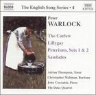 Warlock: The Curlew; Lillygay: Peterisms, Sets 1 & 2; Saudades (CD, Apr-2003, Naxos (Distributor))