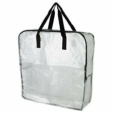 Pack of 3 - Extra Large Clear Storage Bag for Clothing Storage, Under the Bed St
