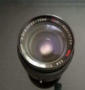 Foto-Lens-Porst-UNI-ZOOM-GMC-X-M-3-5-4-5-35-70mm-n-810726-made-in-Japan-Objektiv