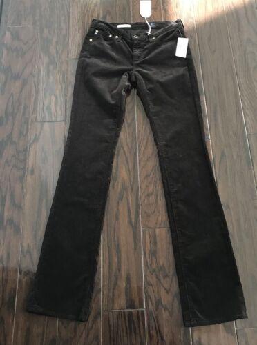 Goldschmied Ballard broek Dark 27 maat Ag Corduroy Slim jeans Nieuwe Brown Adriano b6gyY7f