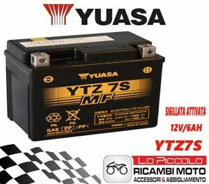 BATTERIA PRECARICATA TTZ7S YUASA PER HM 125 CRE F X 4T 2008//2009 COD.E0 YAMAHA