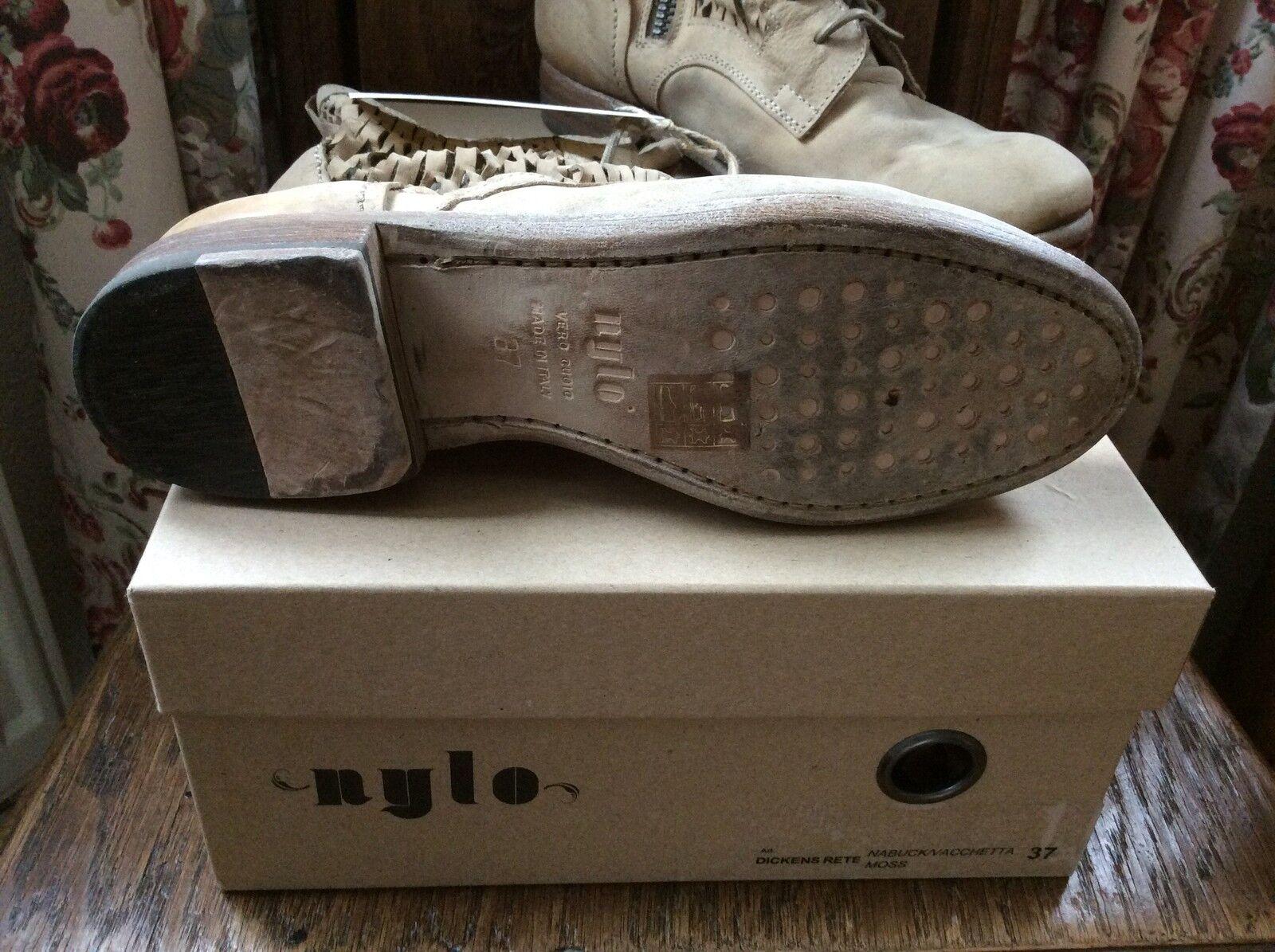 Neu Nylo Stiefel Impressionen Vintage Retro Italien Italien Retro Shabby c42528