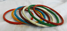Unusual Cinnabar Style Bangle / Bracelet - BNIB - Assorted Colours