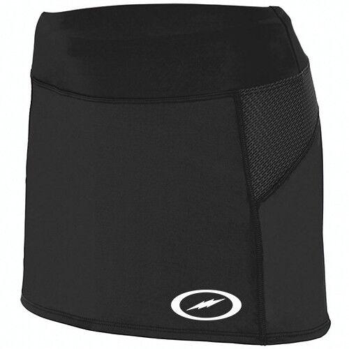Storm Women/'s Skort Performance Bowling Tennis Skirt Dri-Fit Black White