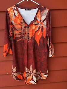 Lily By Firmiana Ladies Tunic Top Dress Medium Ebay