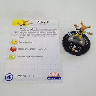 Marvel Heroclix Secret Invasion 015 Energizer Common