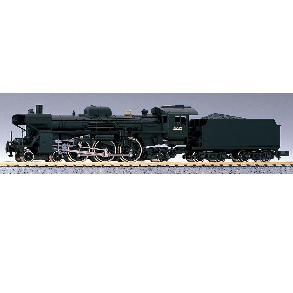Kato 2012 Steam Locomotive 4-6-2 Type C55 Montetsu Type Def - N