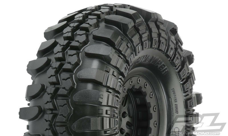 Pro-Line PRO1010710 Interco TSL SX Super Swamper 2.2  Tires w FaultLine Wheels