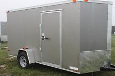 6x12 Enclosed Cargo Trailer Utility Motorcycle V-Nose 7 Landscape  BETTER BUILT