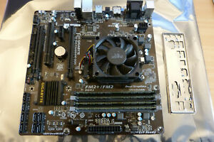 Gigabyte GA-F2A88XM-D3H Rev. 3.0 + AMD A6-5400K + 16GB Kingston Slim PC3-10600U