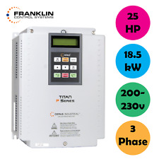 Franklin Controls Variable Frequency Drive Vfd 25hp 3 Phase 200 230v 185kw