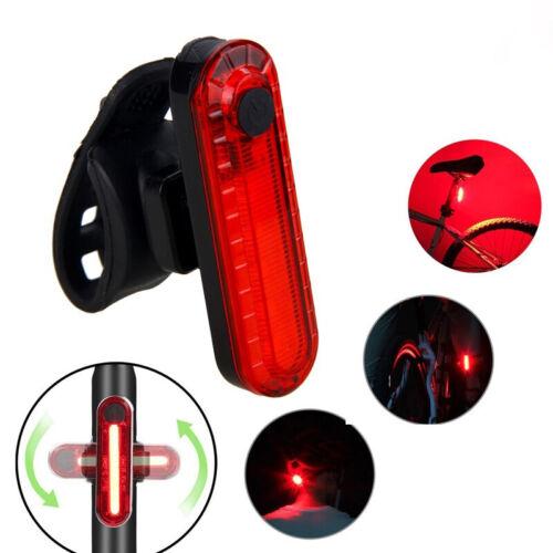 MTB Bike Light USB Bicycle Speedometer Rechargeable Headlight /& Taillight Set