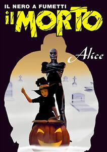 Fumetto-Noir-IL-MORTO-Promo-n-13-tiratura-limitata-e-numerata