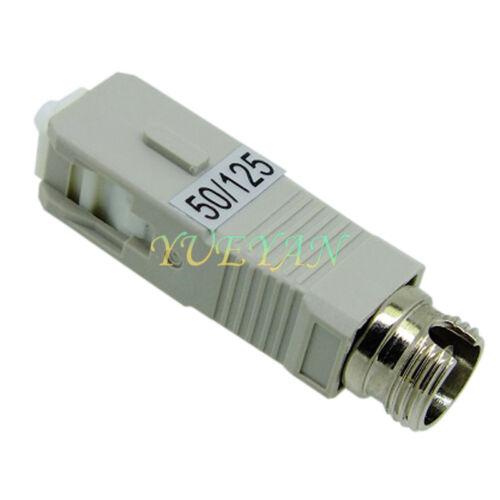 FC Female to SC Male Multimode Hybrid Adapter Converter MM 50//125