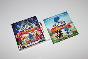 Sonic-Boom-Fire-amp-Ice-Launch-Edition-COLLECTOR-BOX-ONLY-DVD-Nintendo-3DS