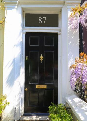 Porte Fenêtre à Imposte numéro Victorian Frost Etch porte numéro porte en verre numéro