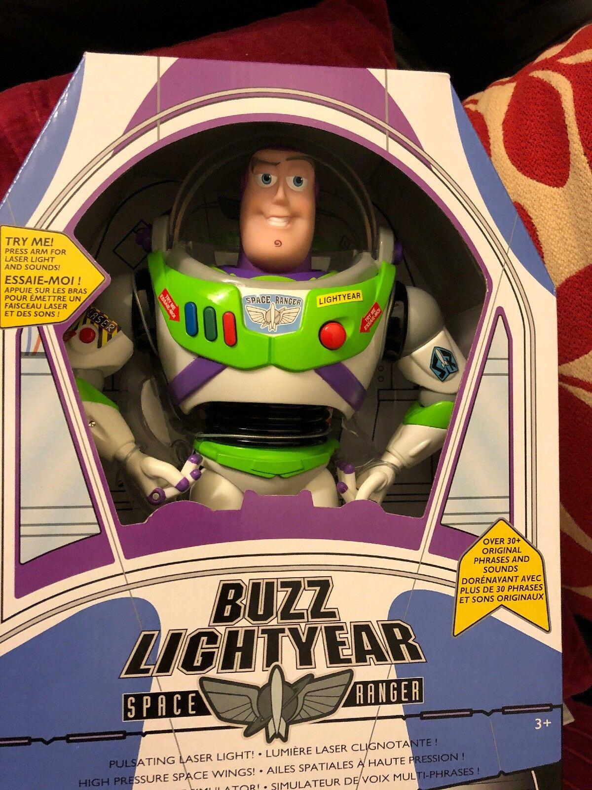 Buzz Lightyear Classic 12 Pollici Figura Giocattolo Parlante