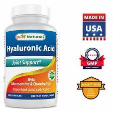 Best Naturals Hyaluronic Acid 100mg per Serving 120 Capsules