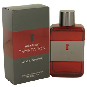 e05f02f7f5 The Secret Temptation by Antonio Banderas 3.4 Oz EDT Spray Men 100 Authentic