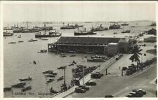 "Malaya REAL PHOTO POSTCARD VIEW ""Clifford Pier,"