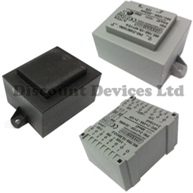 Encapsulated Mains Power Transformers Insulated PCB  230 / 6V - 24 VAC V AC
