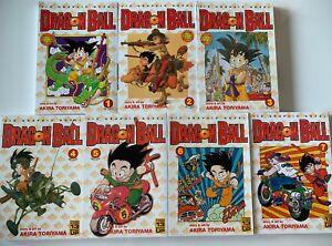 Dragon Ball Vol 1 7 By Akira Toriyama Manga Shonen English Ebay