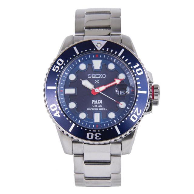 Seiko Prospex PADI Solar Air Diver Special Edition Watch SNE435P1 AU FAST & FREE