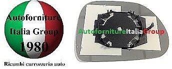 PIASTRA SPECCHIO SPECCHIETTO RETROVISORE C//VETRO SX FIAT 500L 12/> 2012/>