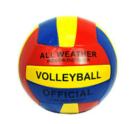 Volleyball Ball Soft Official Olympic Indoor Outdoor Size 5 Multi-color on sale