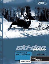 Ski-Doo service manual 2001 GRAND TOURING SE & 2001 MACH Z STD / TECH PLUS