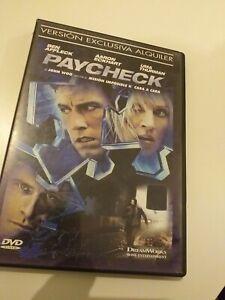 Dvd-PAYCHECK-CON-BEN-AFFLECK