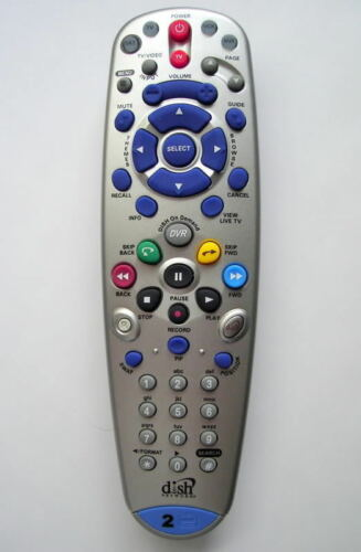 DISH NETWORK BELL ExpressVU 6.3 Remote Control TV2 IR//UHF 722 9241 Model 148787