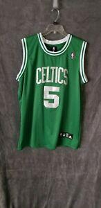 4ba2f23001e Image is loading Boston-Celtics-Adidas-Kevin-Garnett-Jersey-5-size-