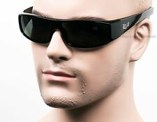 Locs Sunglasses Men OG Gangster Lowrider Shades Smoke Gray Dark Black LC4