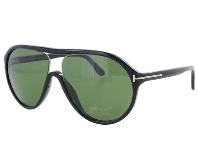 f38fb2978d954 Tom Ford Aviator Sunglasses Tf443 Edison 01n Black Ft0443 for sale ...