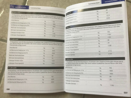 BMW X1 F48  2018 Betriebsanleitung 2018 Bedienungsanleitung Handbuch Auto CAR X1