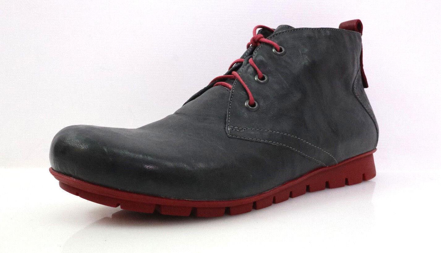 Think  Menscha_383074 Gr.41 Damen Damen Damen Desert Stiefel Schuhe Stiefeletten Leder Grau bad627