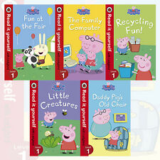 Read It Yourself Level 1 Collection 5 Books Set Little Creatures,Fun at the Fair