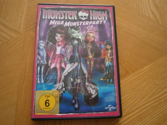 """Monster High """"Mega Monsterparty"""" DVD"""