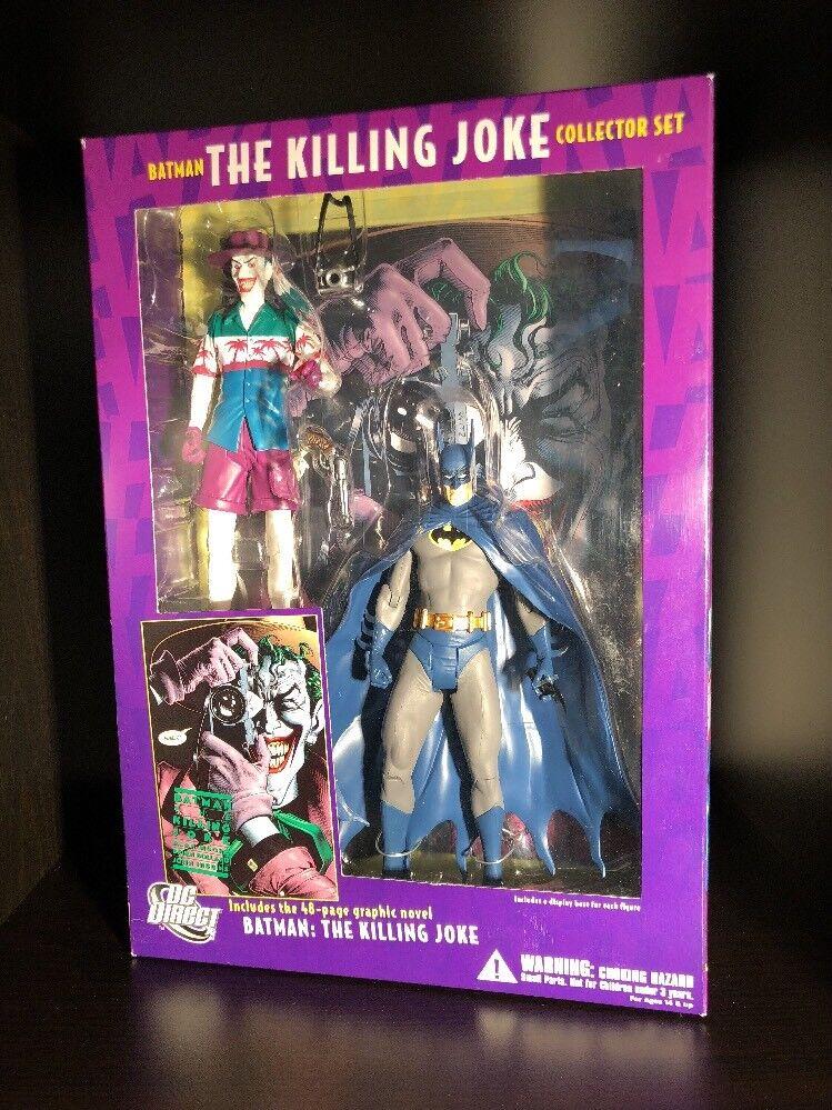DC Comics Direct Batman The Killing Joke Action Figure Collector Set Joker Moore