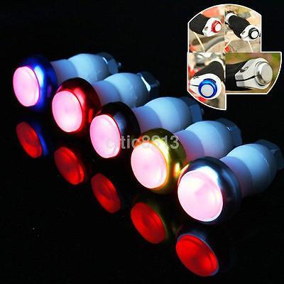 1 Pair 2 Modes Bicycle Bike Light Turn Signal LED Handlebar Indicator Lights US