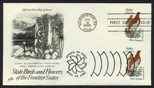 #1954 20c Alaska, Arte Craft-Dual Cancelado FDC Cualquier 4=