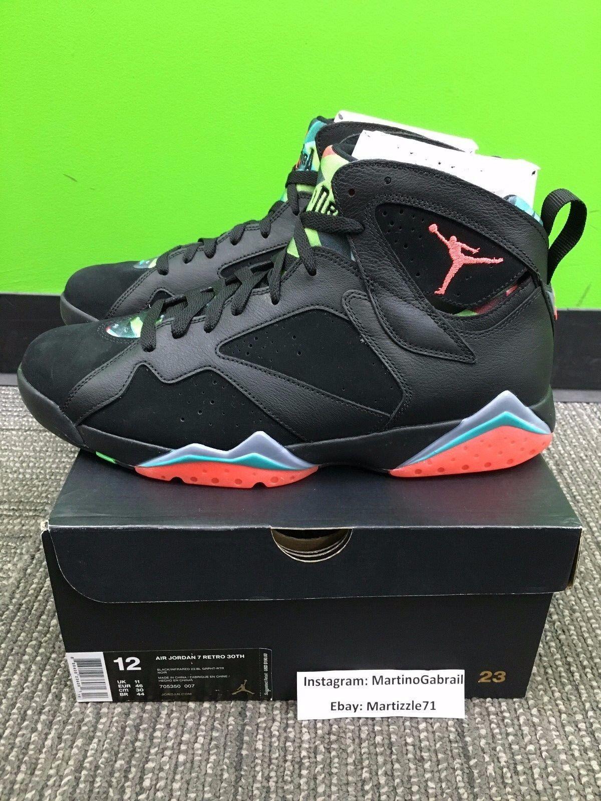 60e74d5eef4 Nike Air Jordan Retro VII 7 Marvin The Martian Barcelona Nights ...